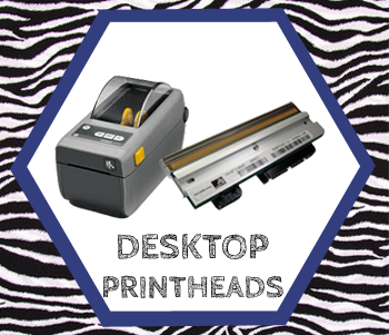 Printheads for Zebra desktop printers