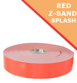 RED Zebra Z-Band Splash wristbands - 25mm x 254mm (10012718-1)
