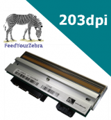 Zebra ZM400 printhead - genuine Zebra replacement printhead