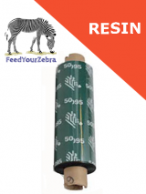 Zebra 5095 resin - 110mm x 74m (05095GS11007)